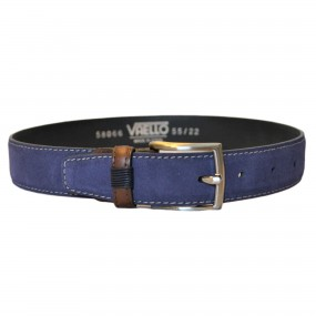 Vaello Suede Belt French Navy