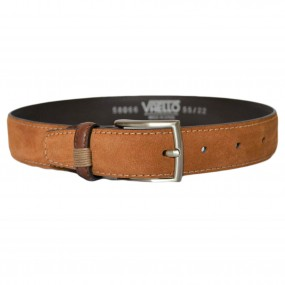 Vaello Suede Belt Tan