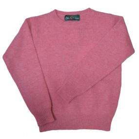 Alan Paine Nougat Crew Neck Jumper