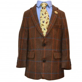 Alan Paine Teak Tweed Jacket FROM