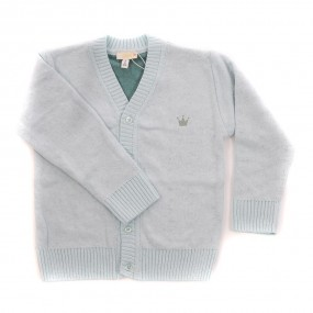 CHUA Mint Green Boy's Cardigan