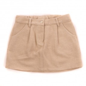 DOT Claire Skirt Beige