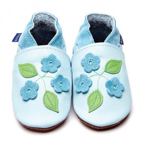 Inch blue Forget Me Knot Shoes