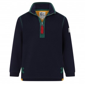 Lazy Jacks Quarter Zip Sweatshirt Marine
