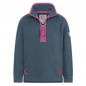 Lazy Jacks Quarter Zip Sweatshirt Teal