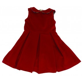 Little Lord & Lady Red Cord Dress