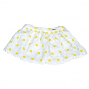 Mayoral White Skirt With Yellow Daisies 3900