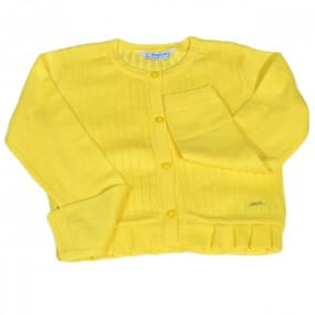 Mayoral Yellow Cardigan 3302