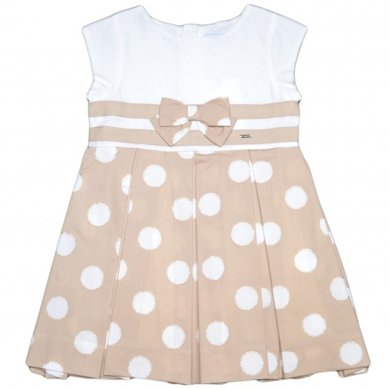 Mayoral Polka Dot Toasted Dress 3938