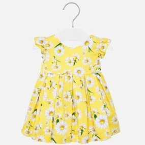 Mayoral Yellow Daisy Baby Dress 1930