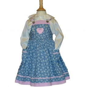 Nicki B  Daisy Pinafore Dress From
