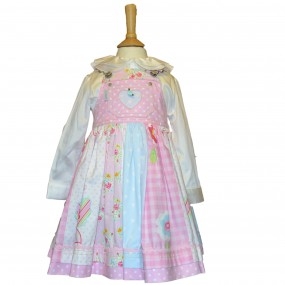 Nicki B Butterfly Pinafore Dress