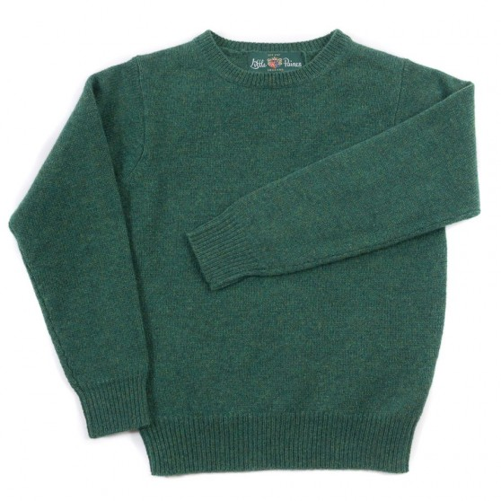Alan Paine Courgette Crew Lambswool Jumper