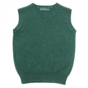 Alan Paine Courgette Lambswool Slipover