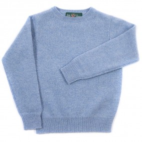 Alan Paine Glacier Lambswool Crew Jumper
