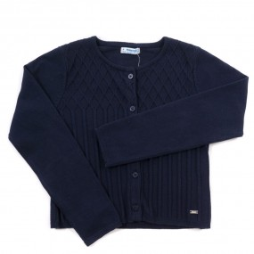 Mayoral Navy Cardigan 4326