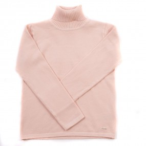 Mayoral Nude Knitted Polo Neck 313