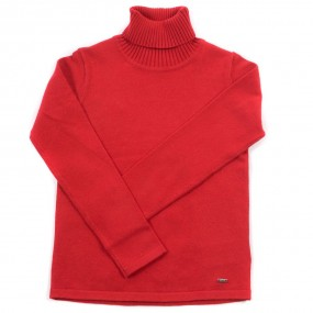 Mayoral Red Knitted Polo Neck 313