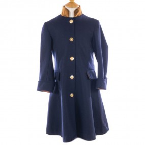 Startsmart Liberty Long Navy Coat FROM