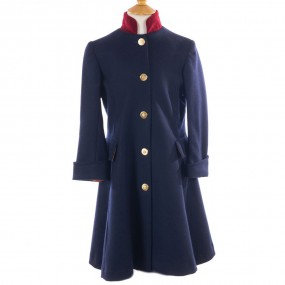 Startsmart Olivia Long Navy Coat FROM