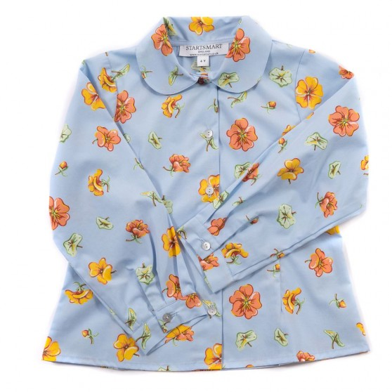 Startsmart Blue Pansy Blouse