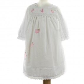 Powell Craft Maddy Girl's Angel Embroidered Nightdress