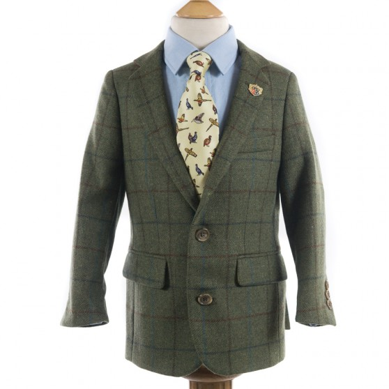 Alan Paine Bracken Tweed Jacket for Boys FROM