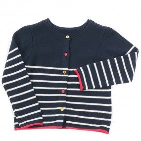 Weekend a La Mer Cotton Cardigan