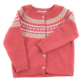 Startsmart Rose Fairisle Cardigan