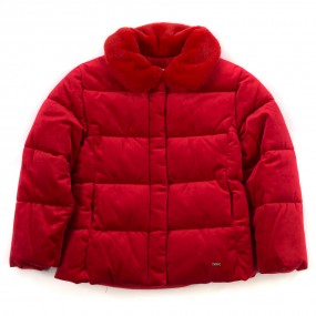 Mayoral Carmine Red Padded Jacket 4413