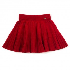 Mayoral Red Knitted Skirt 2938