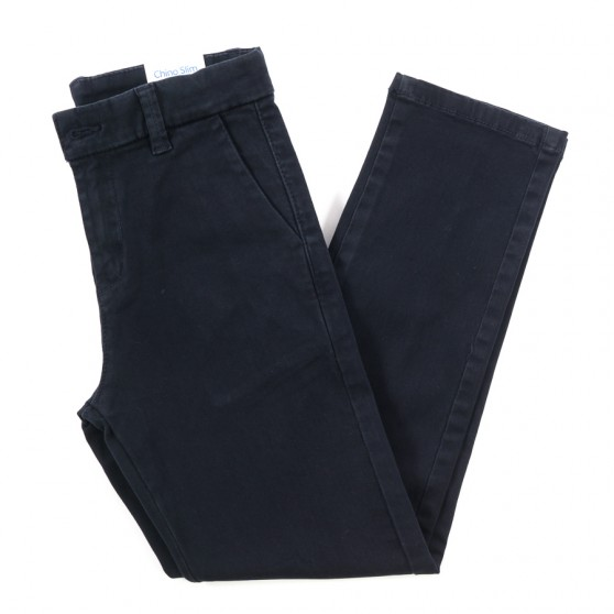 Mayoral Chino Navy Slim Fit Trousers 513 FROM