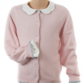 Startsmart Pale Pink Cashmere Cardigan FROM