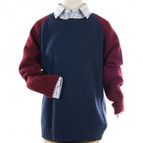 Bobine Bicolore Blue & Wine Jumper