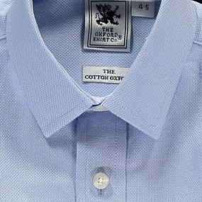 Oxford Shirt Company Pale Blue Shirt