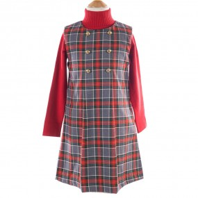 Startsmart Tartan Pinafore Dress