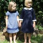 Startsmart Navy and White Orchid Dress