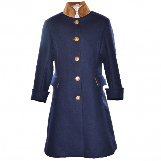 Startsmart Liberty Long Navy Coat